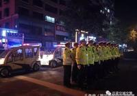 交城交警全力開展夜查行動,嚴查嚴處重點交通違法行為不放鬆