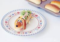 熱狗造型麵包的做法