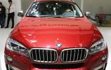 紅色寶馬 BMW X6,百萬級別豪華座駕,車展實拍!
