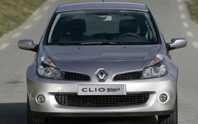 汽車圖集:雷諾Clio RS轎車