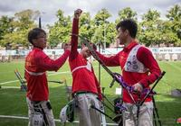 射箭世錦賽中國男隊連創歷史 半決賽淘汰韓國後首奪男團冠軍