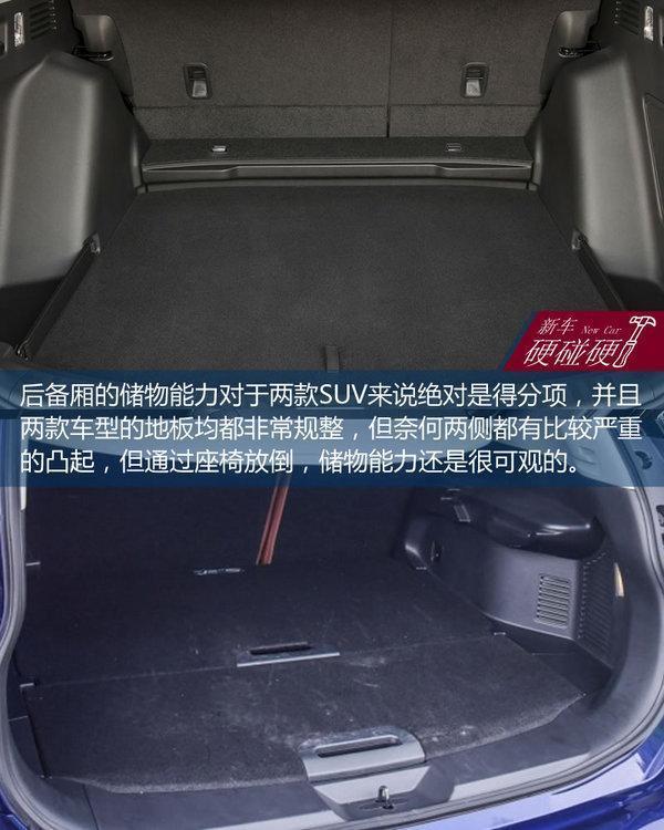 日產奇駿對比本田CRV 日產奇駿2017款七座報價圖
