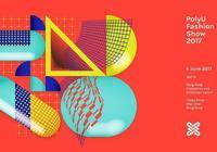 暴走的設計|香港理工大學時尚設計展海報設計