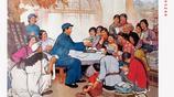 紅色記憶,毛主席幾張的宣傳畫,你曾見過嗎?
