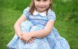 英國凱特王妃之女夏洛特公主滿四周歲最新照片