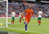 半場-荷蘭1-0保加利亞,普羅佩爾推射建功