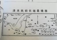 長垣縣境縮小變化過程