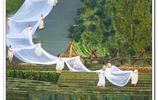 都江堰:清明放水節,美女出場傳遞岷江聖水
