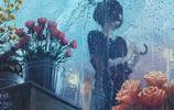 留不住的孤獨背影,插畫師:Tamaki 作品欣賞