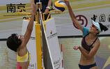全國沙灘排球大滿貫賽南京站女子組半決賽