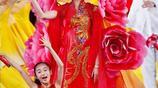 35歲張梓琳一身牡丹華服氣質絕美世界小姐驚豔造型和合影大盤點