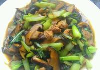 油菜炒香茹