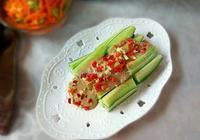 芝麻醬拌黃瓜