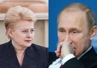 誰說小國不能制裁大國?這位東歐女強人做給你看!就看普京不順眼