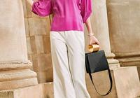 高貴氣質並不需要華麗的衣著,簡約的穿搭更能穿襯出女人的優雅
