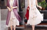 40~55歲專屬端莊寬鬆連衣裙,舒適有檔次顯氣質穿出優雅高貴