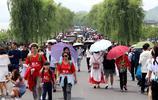 60萬人擠爆西湖,景區都擠哭了,遊客大吼:我後悔了,我想回家