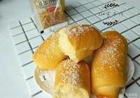 沙拉椰蓉麵包卷#丘比沙拉汁#