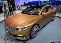 大眾再推高端豪車,比奔馳漂亮,比輝昂奢華,8AT+2.0T混動