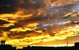 自然風光:神祕的鄖陽火燒雲