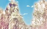 """哈爾濱,伊維爾教堂的""""洋蔥頭"""""""