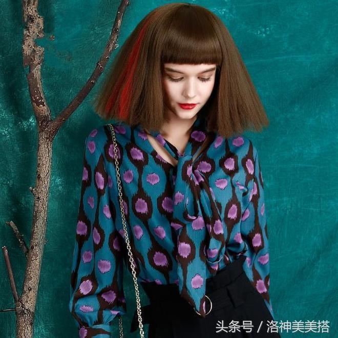 雪紡衫也能如此驚豔,真是漲見識,可能這才是真正的時尚吧