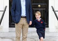 他是優雅的威廉王子,也是蹲下來和兒子溝通的威廉爸爸