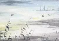 八首淡然詩詞:閒來竹籬信步,倦看雲捲雲舒