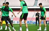 北京中赫國安在工體踩場訓練,亞冠第4輪國安主場對陣武裡南聯