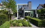 別墅設計:植物樹牆和樹球做裝飾的庭院別墅,真正有錢人住的大宅