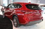 全新漢蘭達海外車型實拍 又是一款稱職的標杆家用車