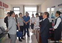 陝西省總工會調研組來白界鎮調研