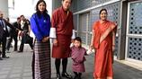 不丹國王攜全家訪問印度,結果小王子和總理玩得太開心,成功搶鏡