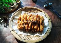 我用8朵香菇做成小零食,一口一個,外焦裡嫩,孩子說吃起來像肉