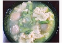 絲瓜雞蛋貢丸湯的做法