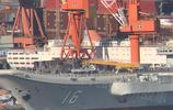 我海軍遼寧艦改造完畢今日出海試航