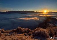 成都出發——達瓦更扎,觀看翻湧的雲海、日出