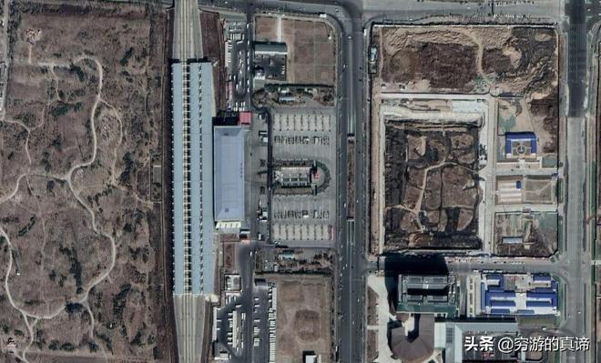 從衛星圖上看河北省這些城市的高鐵站,你認為哪個設計的最好看?