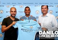 官方:曼城簽下皇馬右後衛達尼洛