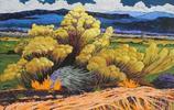 一組風光繪畫作品欣賞,作者:美國畫家Gene Brown