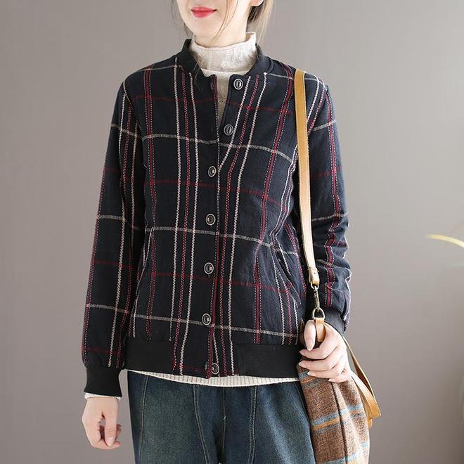 婆婆忒會打扮,都55歲了!天天穿文藝風棉服,誰看都說頂多35