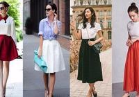教大家制作一款優衣庫同款闊擺裙,學會了這幾個步驟,你也可以做
