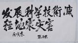 """張平化手跡,任湖南省委書記時,經常表揚華國鋒,說他""""年輕有為"""""""