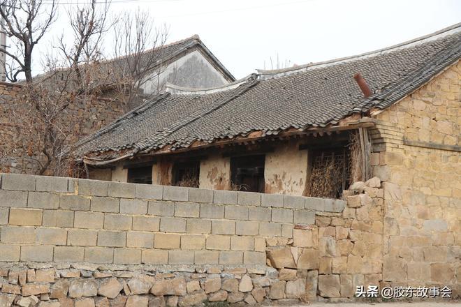 組圖:煙臺龍口南部一個山村的實景,名叫雀山姜家