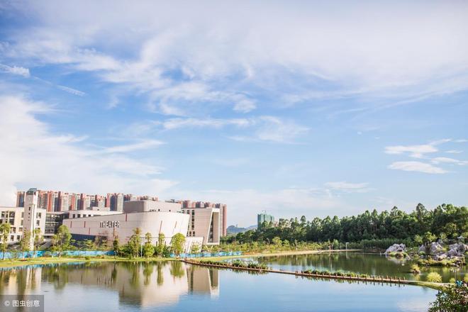廣東這所高校坐落在國家級重點風景名勝區內!是全國綠化模範單位