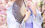 櫻花樹下,唯美和服