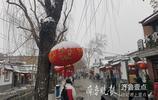 雪景映襯下的濟南老街巷太美了