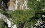旅途隨筆 遊克羅地亞普利特維採湖 又見瀑布中的彩虹