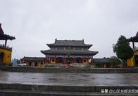 崇於四頂山之巔,八公山歷史名勝之一的八公山碧霞元君廟