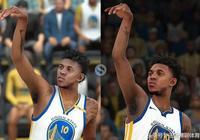 NBA2K17和2K18球員圖像對比,愛玩遊戲的小夥伴有福嘍